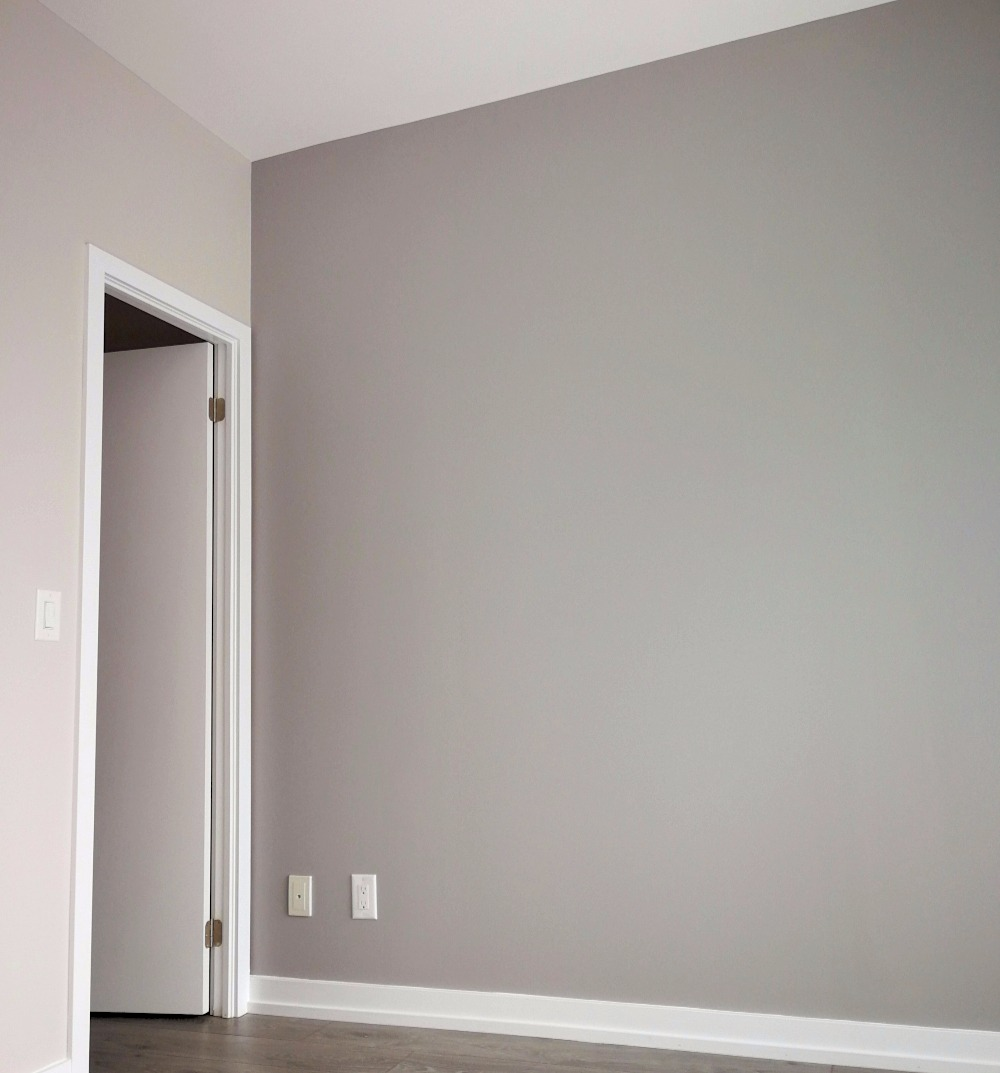 Turtles And Tails Master Bedroom Before And After: Stormy Monday Benjamin Moore Paint